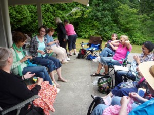 Annual Knit in Stanley Park, photo: B.R. Emmons